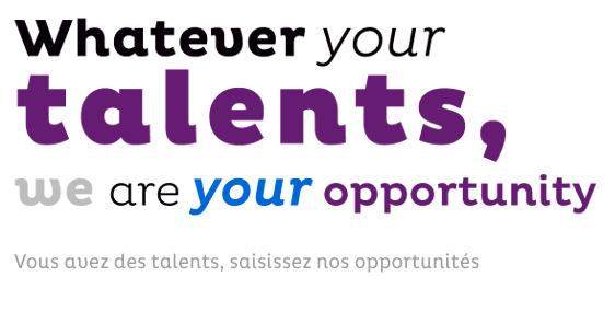 Whatever your talents, wae are your opportunity